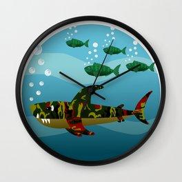 Le Requin Wall Clock