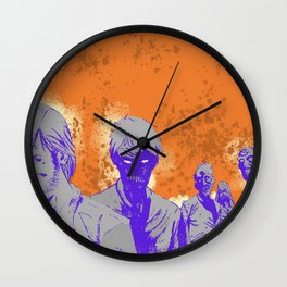 The company of monsters Wall Clock