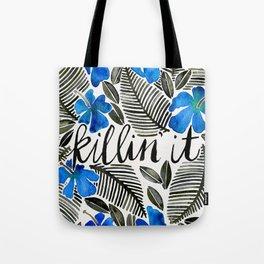 Killin' It – Tropical Blue Tote Bag