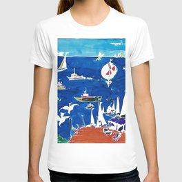 The Marina, Southport, AUSTRALIA        by Kay Lipton T-shirt
