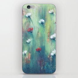 Dancing Field of Flowers iPhone Skin