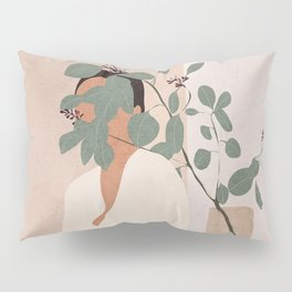 Behind the Leaves Pillow Sham