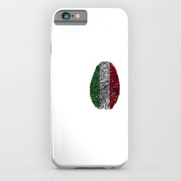 It's In My DNA Italy Italian Flag iPhone Case