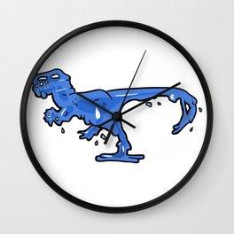 Gelociraptor Wall Clock