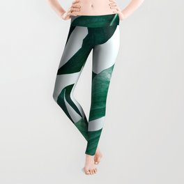Monstera #society6 #artprints #buyart Leggings