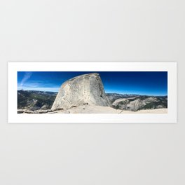 Half Dome Cables - Yosemite National Park Art Print