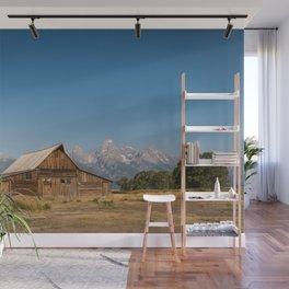 Mormon Row, Wyoming Wall Mural