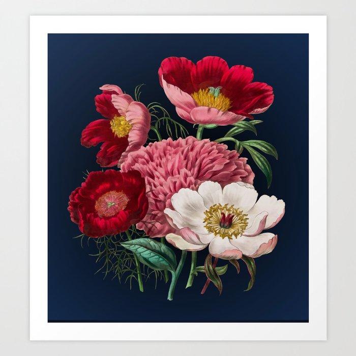 Flower garden III Kunstdrucke