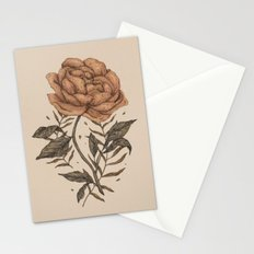 Peony and Ferns Stationery Cards