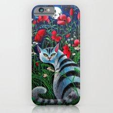 Cat in the Night iPhone 6s Slim Case