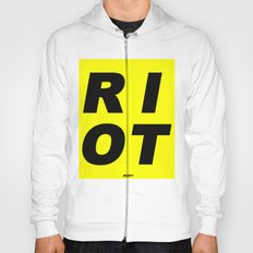 RIOT (BLACK AND YELLOW) Hoody
