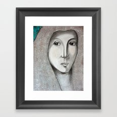 La Bella Donna Framed Art Print