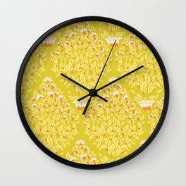 Blooming diamonds Wall Clock