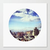 chelsea Canvas Prints featuring Chelsea by Tara Cassady