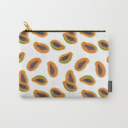 Papaya Twins - white Carry-All Pouch