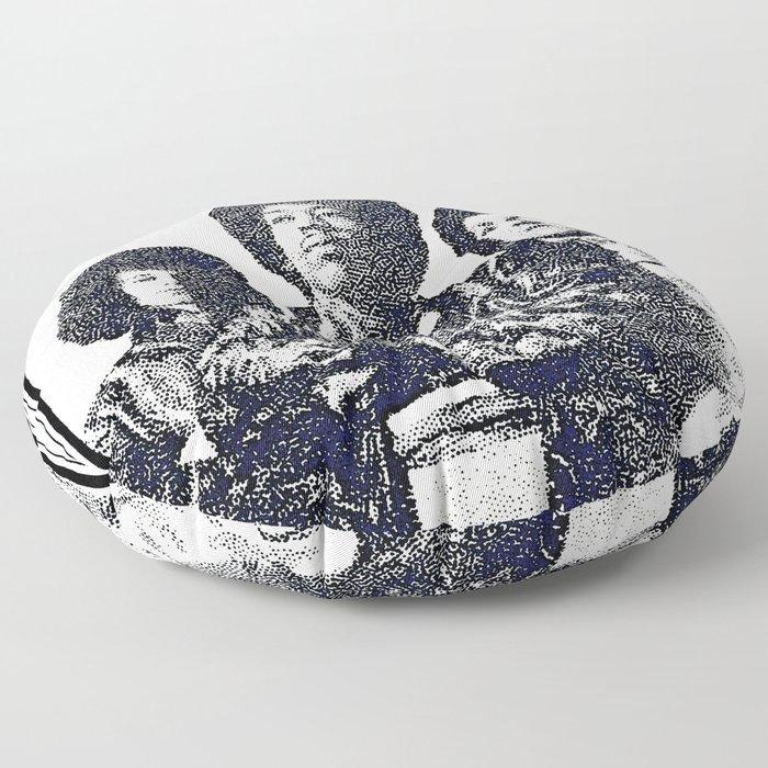 Last Michigan Appearance Floor Pillow