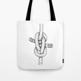 Zeppelin bend nautical knot art Tote Bag