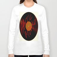 arctic monkeys Long Sleeve T-shirts featuring Arctic Monkeys by SLIDE