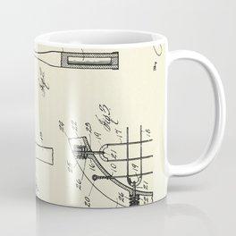 Tennis Racket-1925 Coffee Mug
