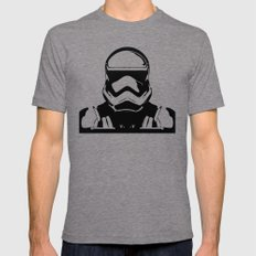 Trooper  2X-LARGE Mens Fitted Tee Tri-Grey