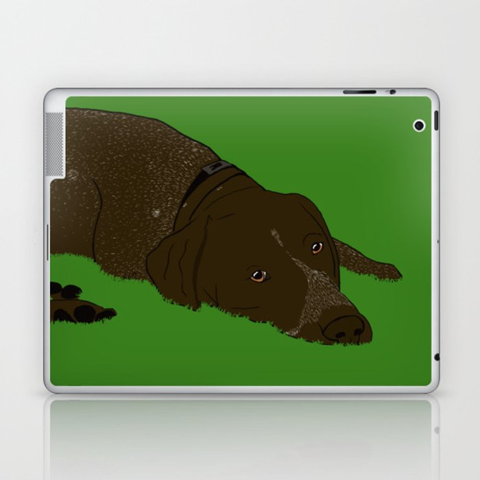 German Shorthaired Pointer Laptop & iPad Skin