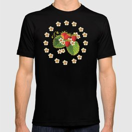Strawberries Botanical T-shirt