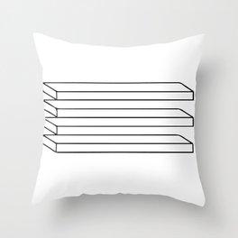 Optical Illusion #5 Throw Pillow