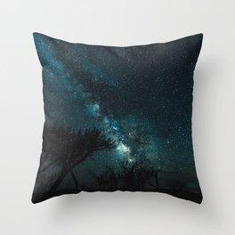 Milky Way Love! Throw Pillow