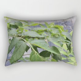 Leaves at Black Bayou, Monroe, Louisiana Rectangular Pillow