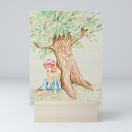 Julie Depressed Mini Art Print