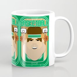 Basketball Green - Court Dunkdribbler - Bob version Coffee Mug