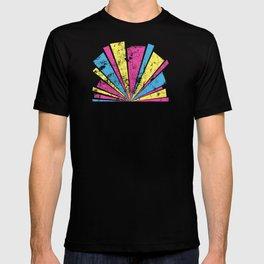 CMYK Star Burst T-shirt