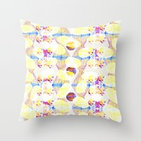 scales Throw Pillows featuring Scales by Rachel Clore
