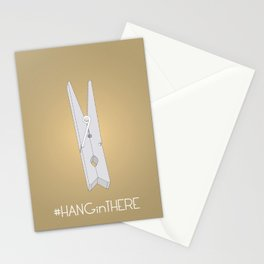 HANGinTHERE Stationery Cards