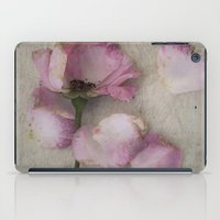 depression iPad Cases featuring Wilted Rose by Maria Heyens