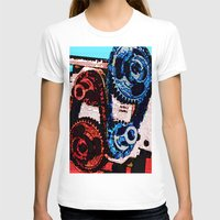 gears of war T-shirts featuring Dual Gears by Chris Crewe
