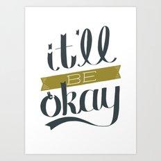 A-OK Art Print