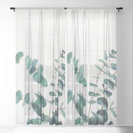 Eucalyptus II Sheer Curtain