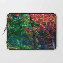 Fall forest Laptop Sleeve