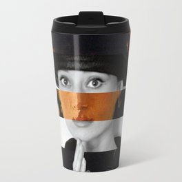 "Manet's ""Berthe Morisot with a Bouquet of Violets"" & Audrey Hepburn Travel Mug"