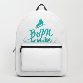 Born to Make History Backpack