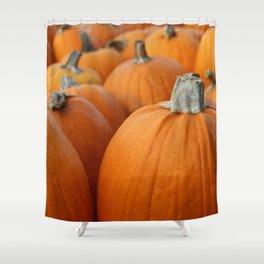 Pumpkins 3 Shower Curtain
