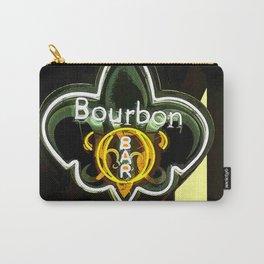 New Orleans Bourbon Street Bar Carry-All Pouch
