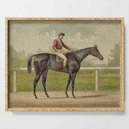 Grand Racer Kingston - Vintage Horse Racing Serving Tray