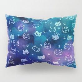 Kitty galaxy-meow Pillow Sham