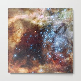 Grand star-forming region R136 in NGC 2070 Metal Print