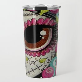 Day Of The Dead Girl Travel Mug