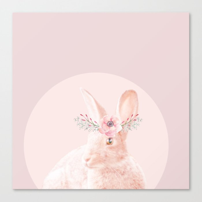 briar rabbit Canvas Print