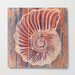 The Coral of The SeaShell Metal Print