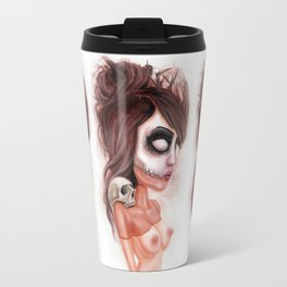 Deathlike Skull Impression Travel Mug